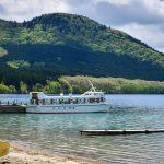 Lake Tazawa Sightseeing boat