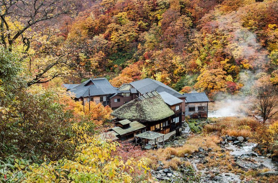 Nyuto onsen village