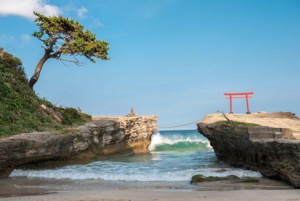 izu peninsula shirahama beach