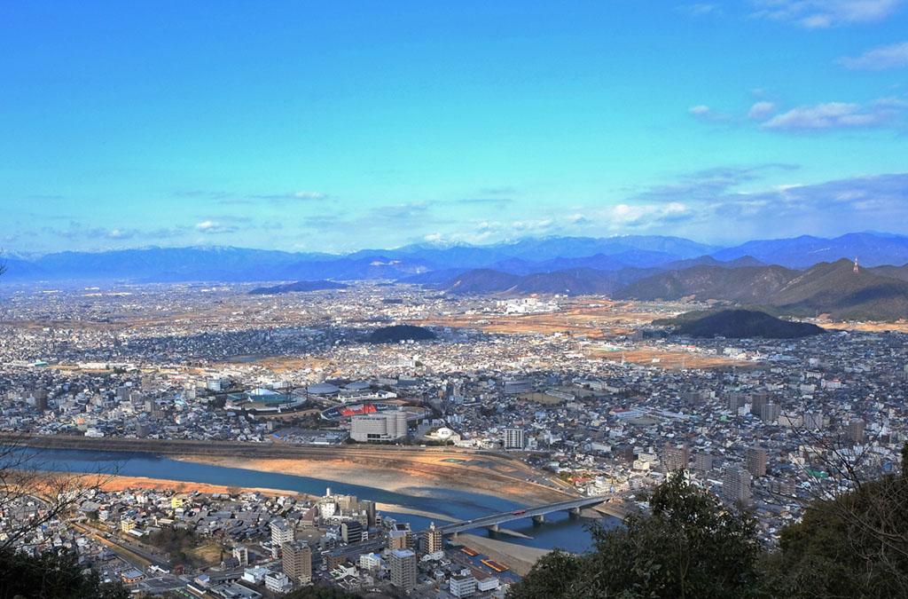 Mount kinka gifu