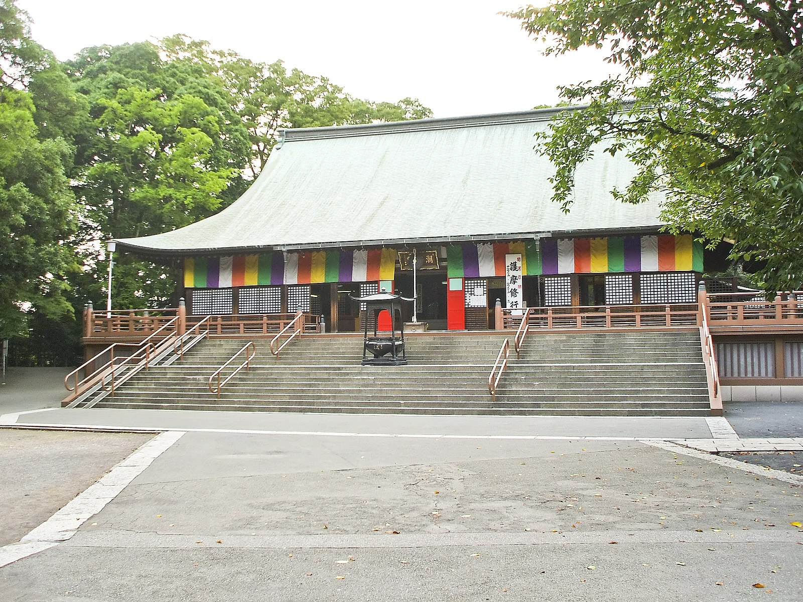 kita in temple kawagoe