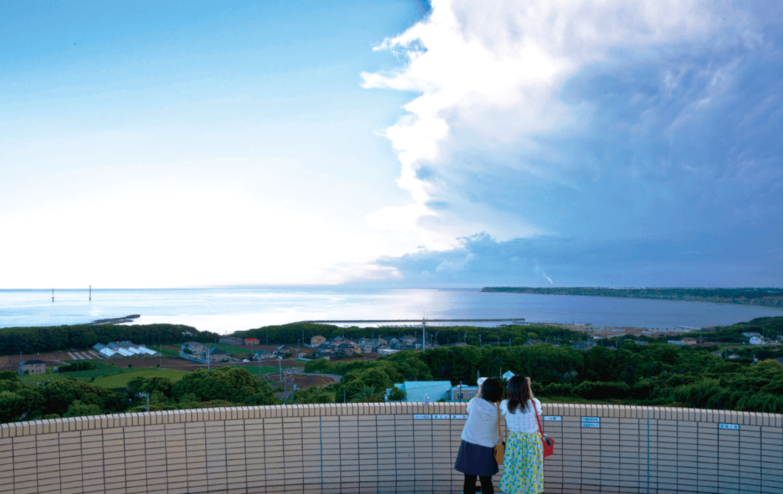 Chikyu no Maruku Mieru Oka Ocean View Observatory