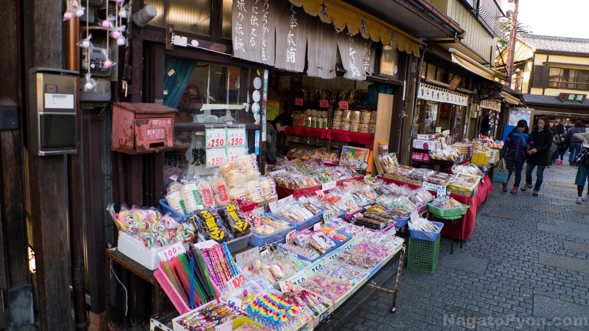 Kashiya Yokocho Alley