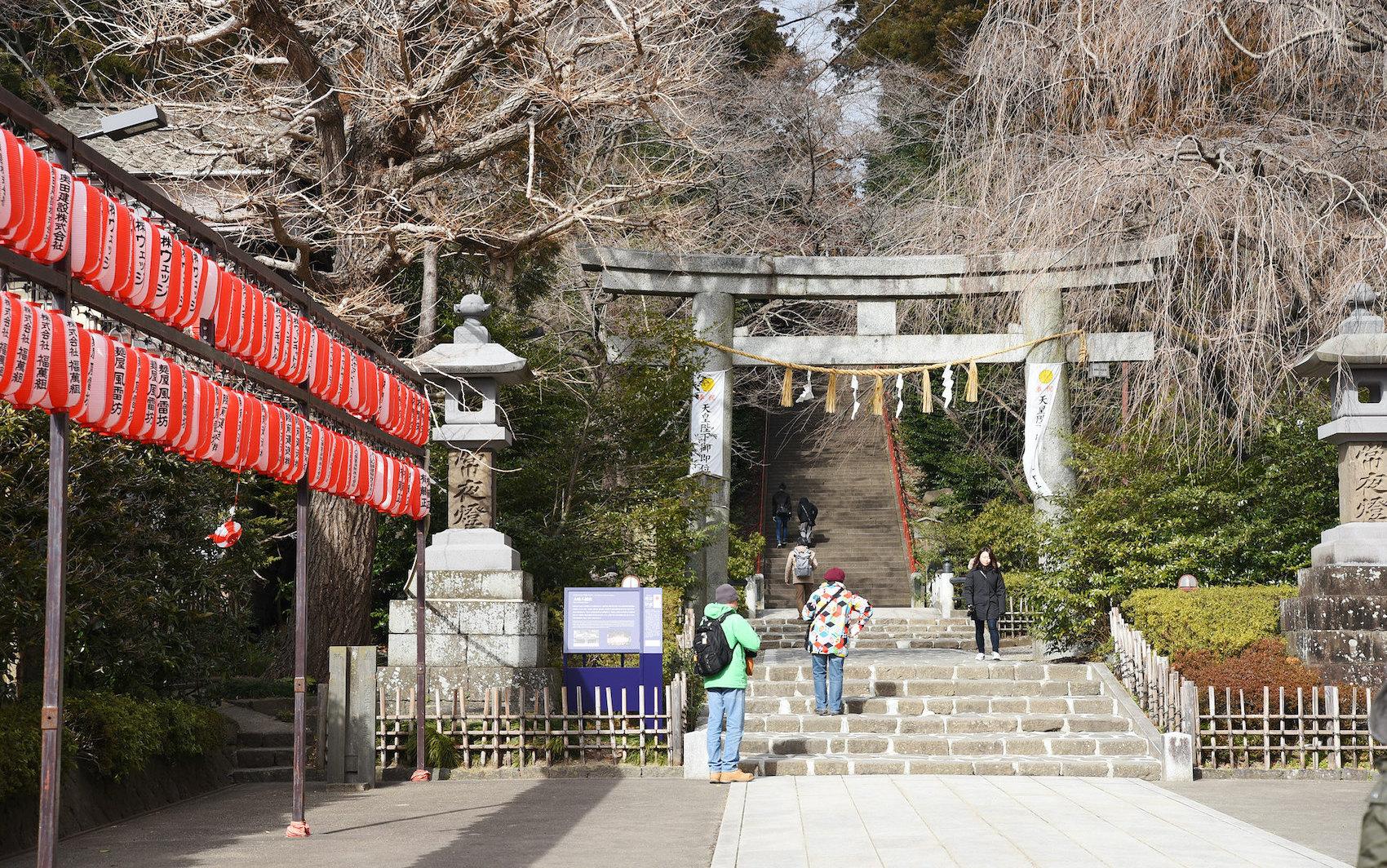 Osaki Hachimangu shrine1