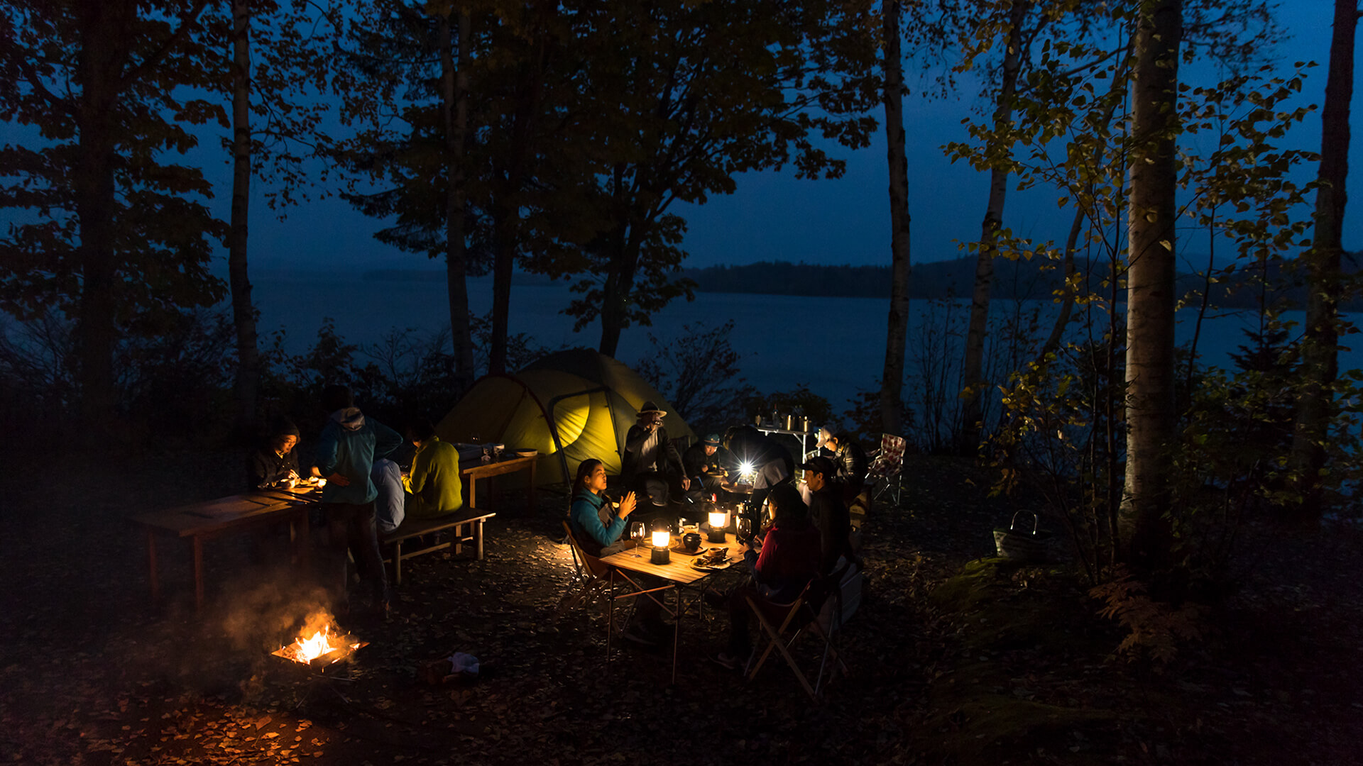 4 Great Camping Spots in Hokkaido