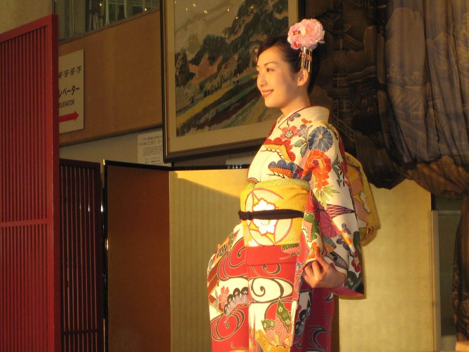 kimono parade kyoto