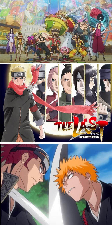 The Big Three Anime
