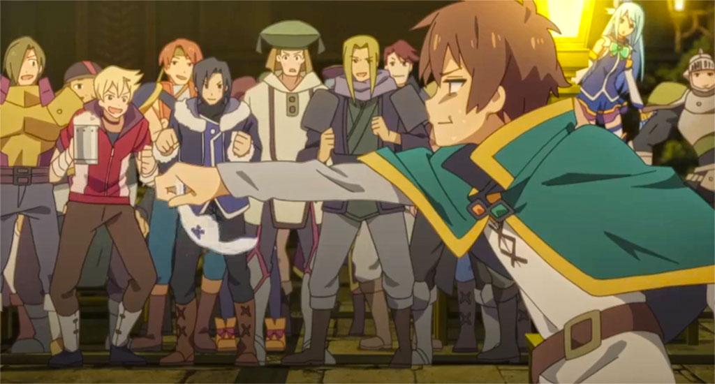 Kazuma Steal Moment