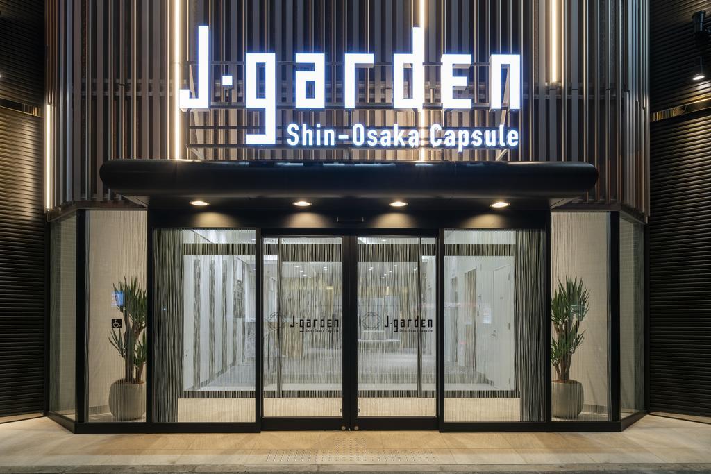 Capsule Hotel J Garden Shin-Osaka2