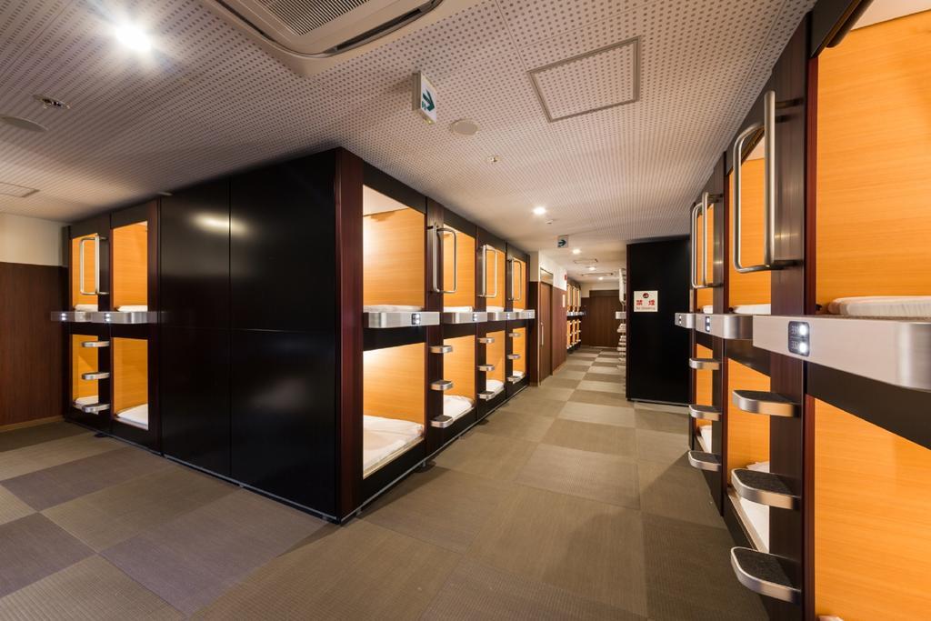 Sauna & Capsule Hotel Rumor Plaza KYOTO2