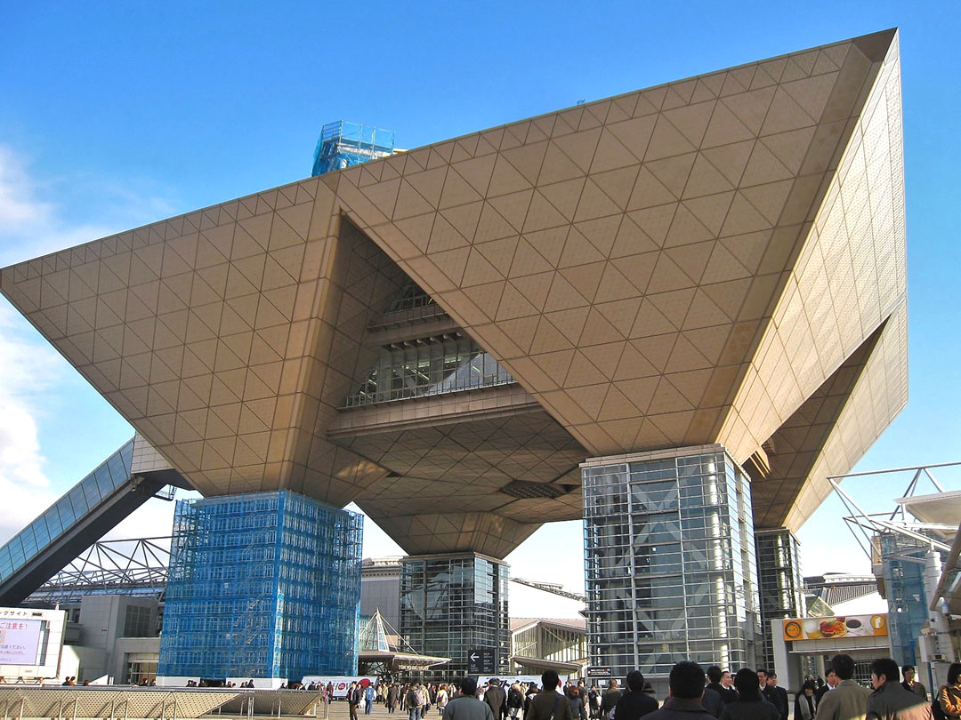 Unique Buildings in Tokyo - Tokyo International Exhibition Cente