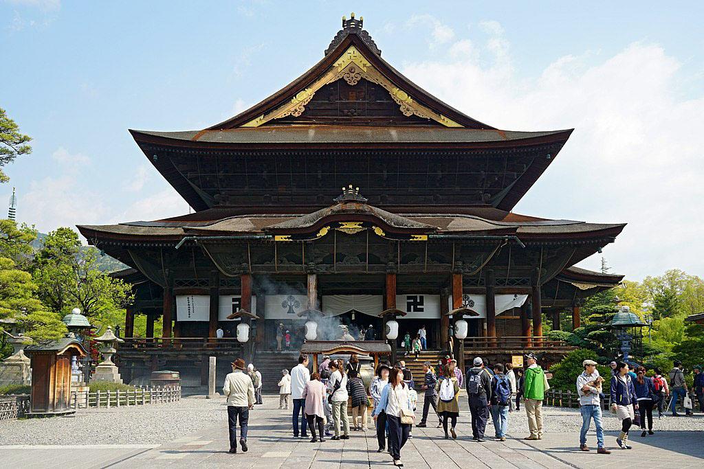 Famous Japanese Temples - Zenko-ji