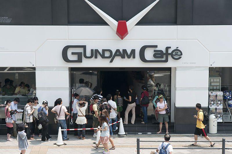 gundam cafe tokyo