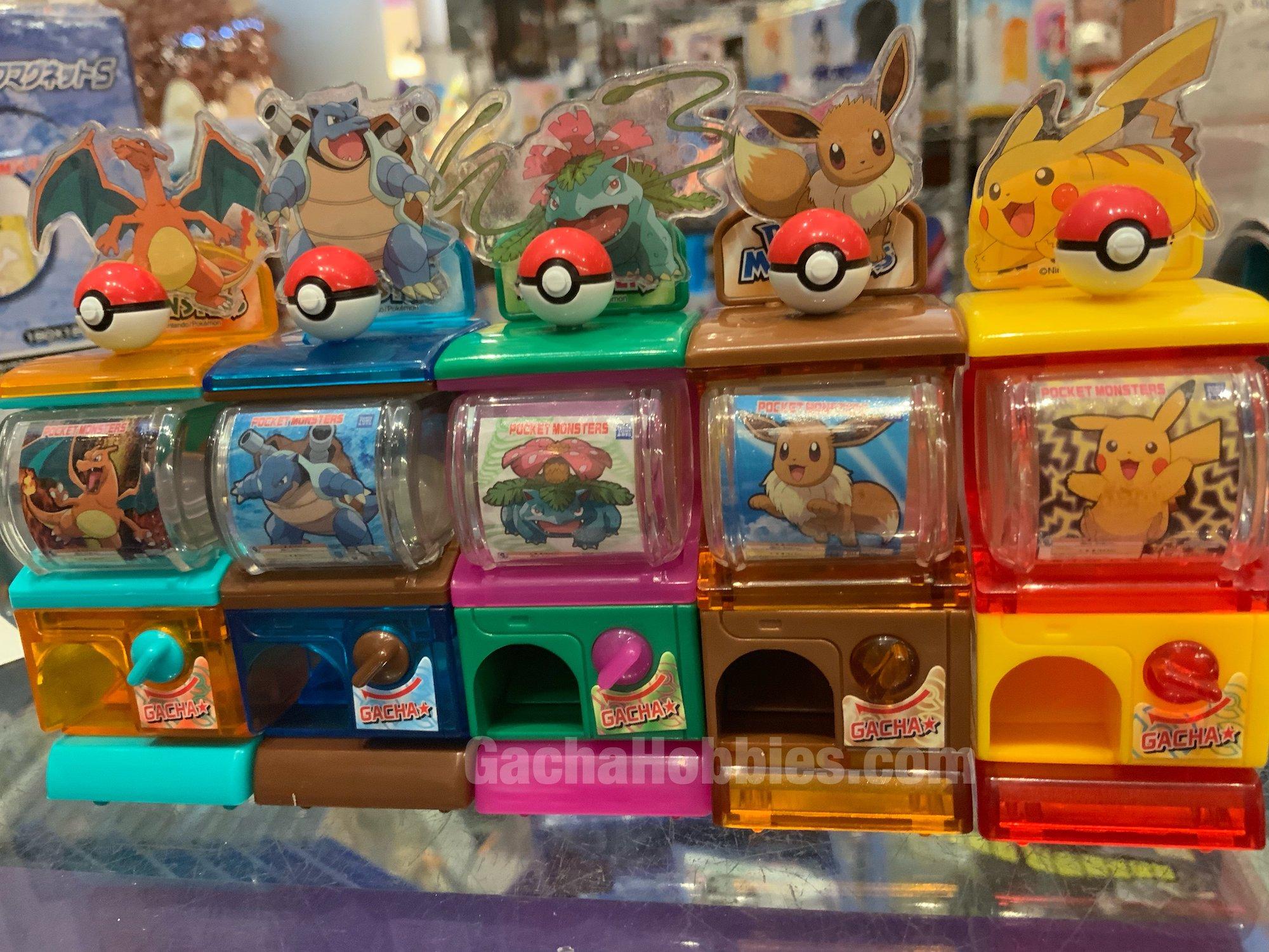 pokemon gachapon japan